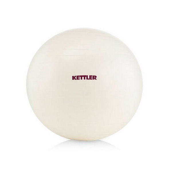 PILATES LOPTA KETTLER BASIC pearl white 65cm FIT-K07350-124