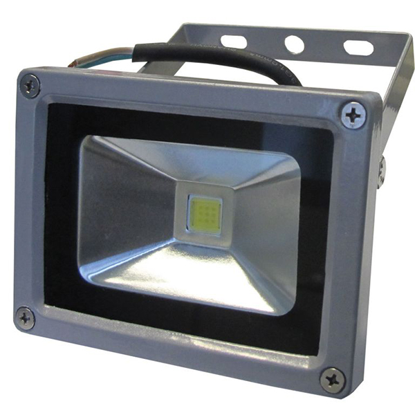 LED reflektor 10W 230V 50/60Hz IP65, srebrni ELR001