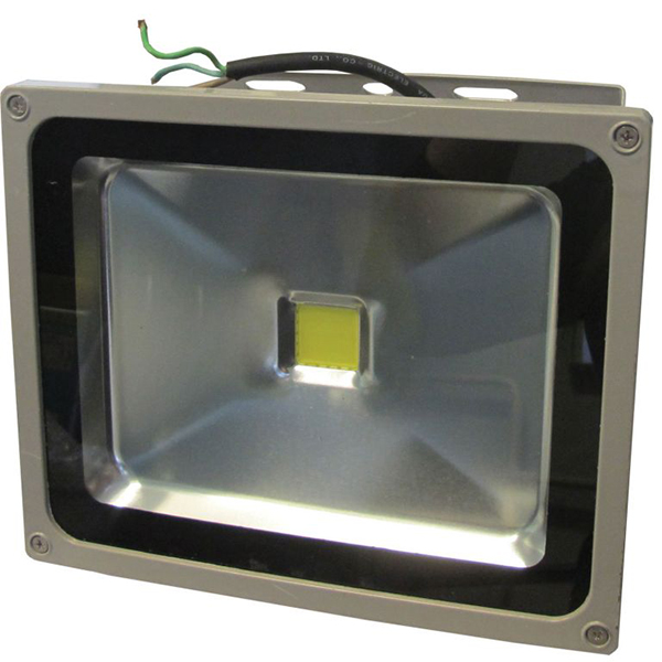 LED reflektor 30W 230V 50/60Hz IP65, srebrni ELR003