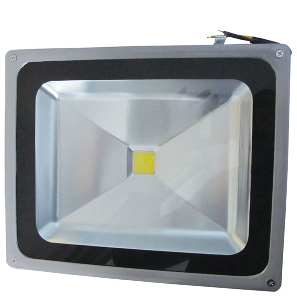 LED reflektor 50W 230V 50/60Hz IP65, srebrni ELR004