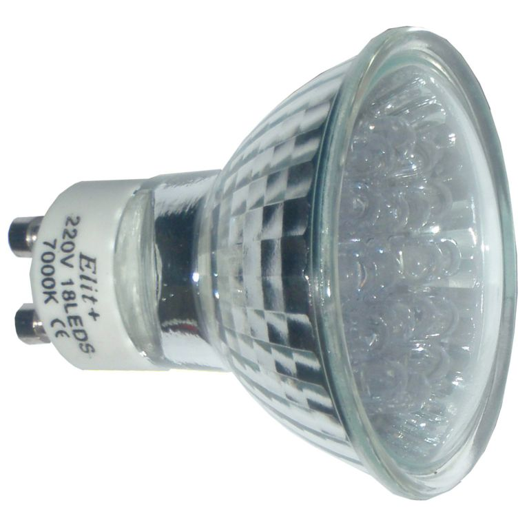 LED sijalica GU10 18LED 1-2W 230V 7000K EL 060