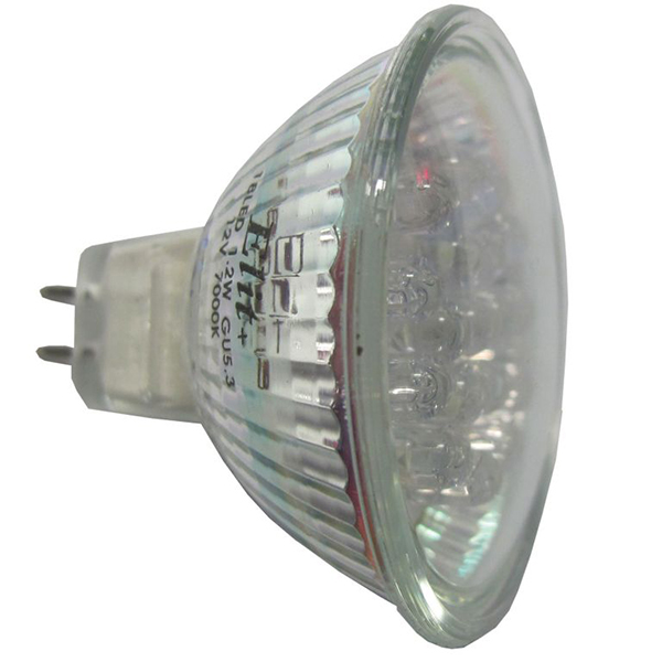 LED sijalica Elit  GU5.3 18LED 1.2W 12V 7000K EL 080