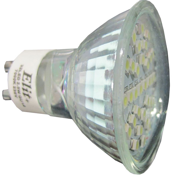 LED sijalica Elit GU10 32LED 2.5W 230V 2700K EL 12201