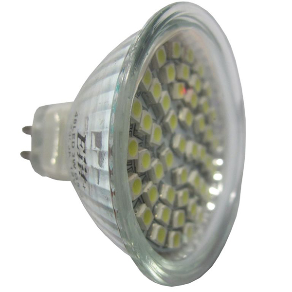 LED sijalica Elit G5.3 48LED 3W 12V 2700K EL 12101