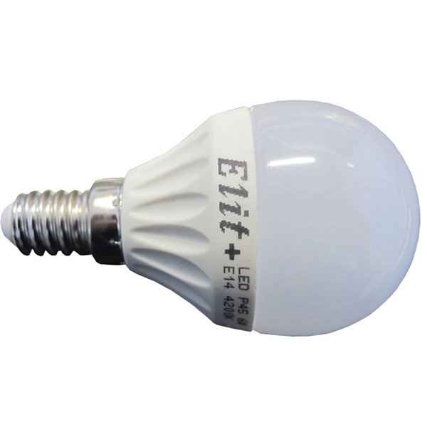 LED sijalica P45 6W 8LED E14 220V 4200K EL 01761