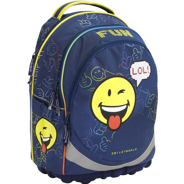 Anatomska torba za školu Smiley ergonomic boy 52534