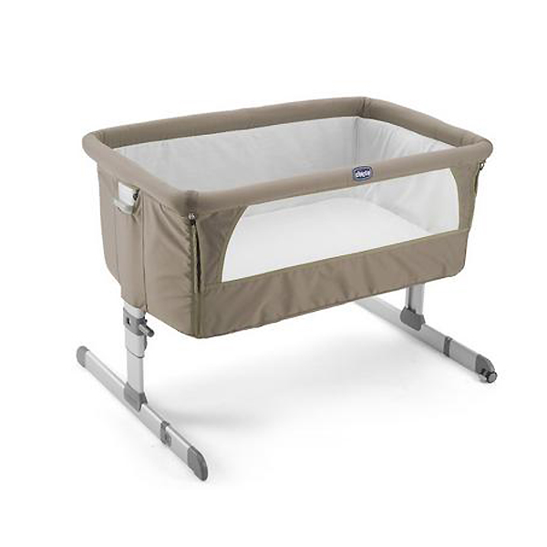 Chicco prenosivi krevetac Next2Me dove grey bež 5170139