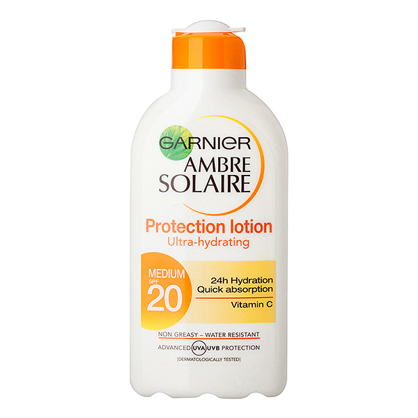GARNIER AMBRE SOLAIRE Ultra-hidrating protection lotion 200mlSPF 20 c0883712