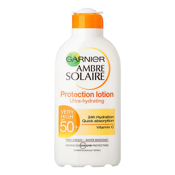 GARNIER AMBRE SOLAIRE Ultra-hidrating protection lotion 200ml SPF 50+ c5395600