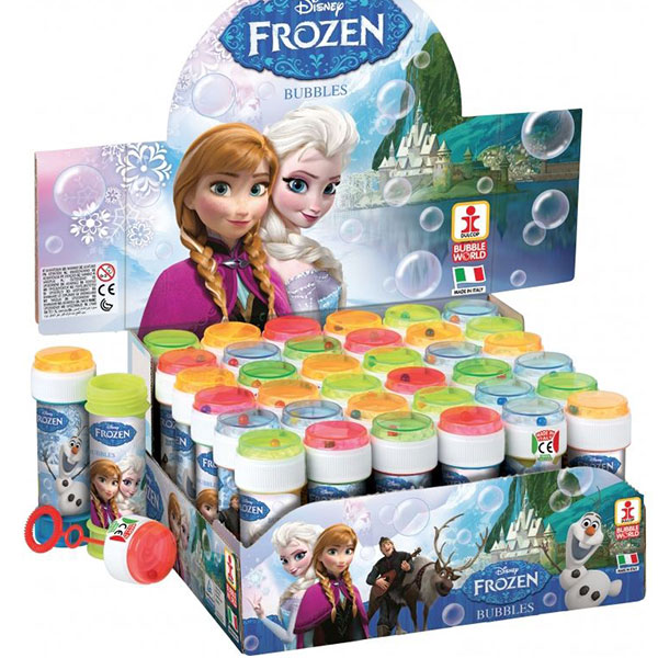 Bubbles Frozen 60ml display 36pcs / 31982