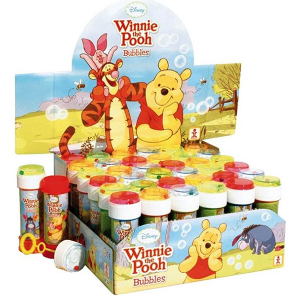 Bubbles Winnie The Pooh 60ml display 36pcs / 29373