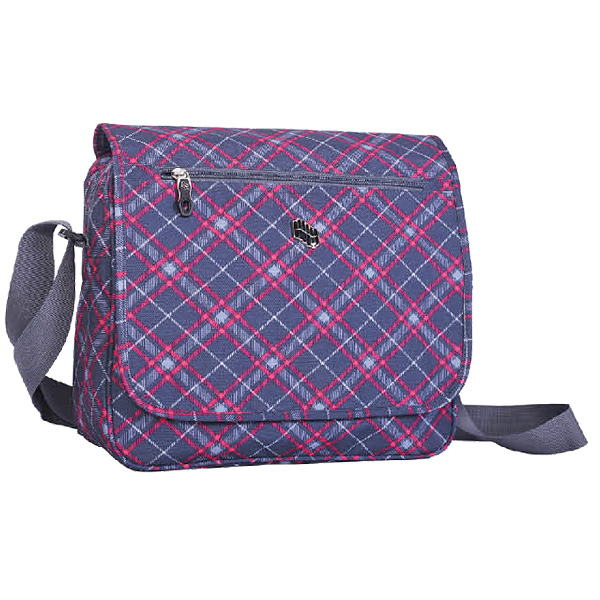 Torba na rame Cyclamen Plaid 120347