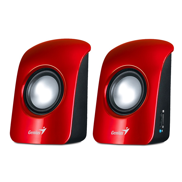 Zvučnici GENIUS SP-U115 USB powered 1.5W Red I106011