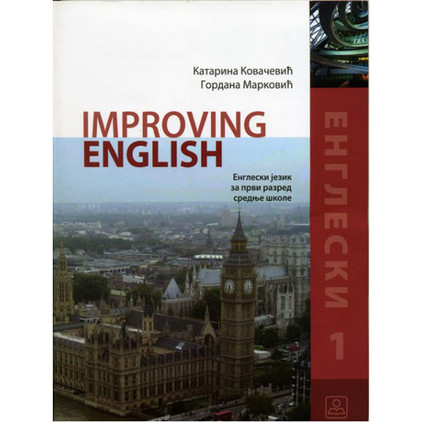 Improving English 1 Engleski jezik-prvi razred 21030