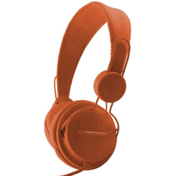 Audio Stereo slušalice ESPERANZA ORANGE SENSATION EH148O