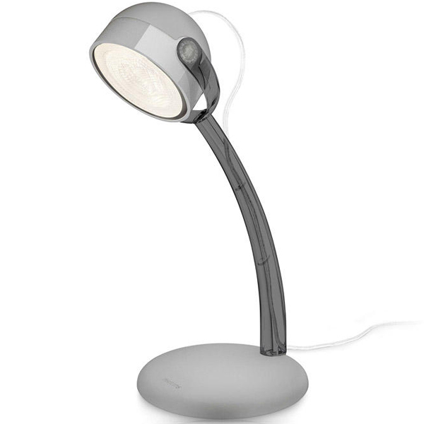 67413/99/16 DYNA table lamp grey 1x3W 230V