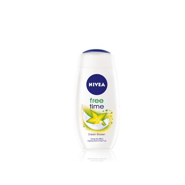 80853 NIVEA Kremasti gel za tus - Free Time  250ml