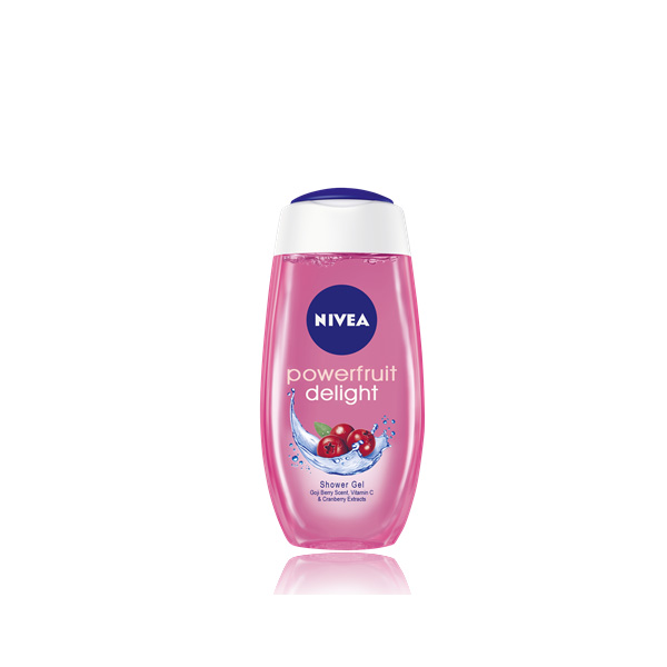 81045 NIVEA Bath Care Powerfruit Refresh gel za tusiranje 250m