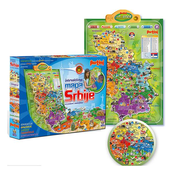 mapa srbije igracka Edukativne igrice – puzle, edukativni tablet, teleskopi i  mapa srbije igracka