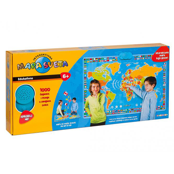 interaktivna mapa sveta igracka Edukativne igrice – puzle, edukativni tablet, teleskopi i  interaktivna mapa sveta igracka