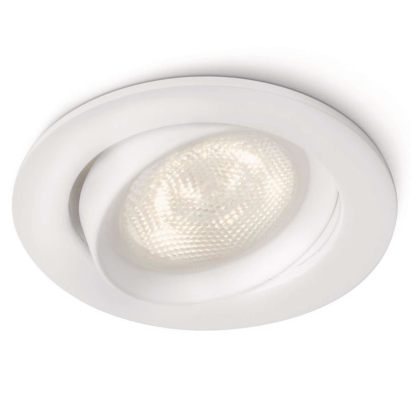 ELLIPSE recessed white 1x3W SELV PHILIPS 59031/31/16