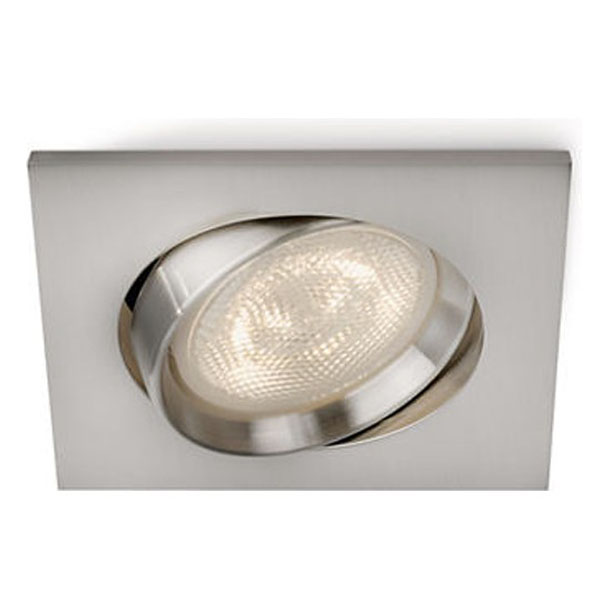 GALILEO recessed nickel 1x3W SELV PHILIPS 59081/17/16
