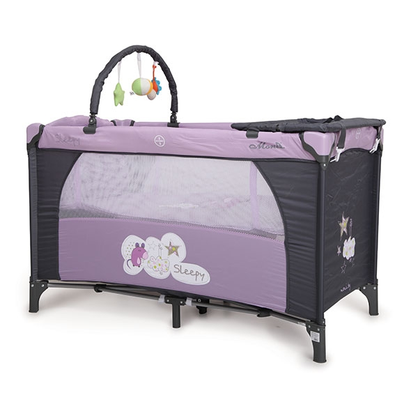 Prenosivi krevetić Cangaroo Sleepy 2u1 Purple CAN6617P