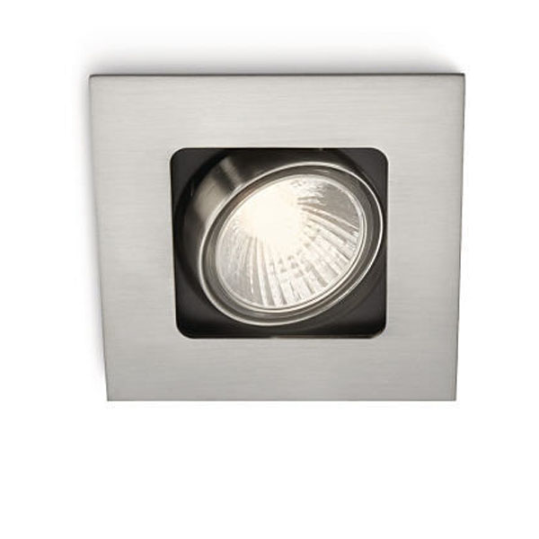 Acamar recessed nickel 1x50W 230V PHILIPS 59300/17/16