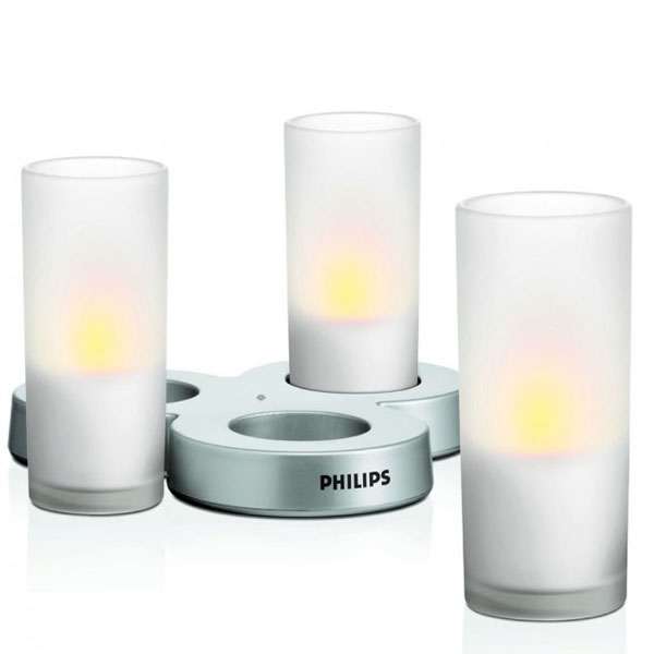 MLA CandleLights 3L set clear PHILIPS 69108/60/PH