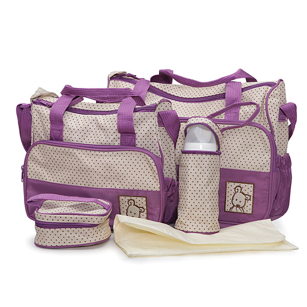 Set torbi za mame Cangaroo Stella Purple CAN0224P