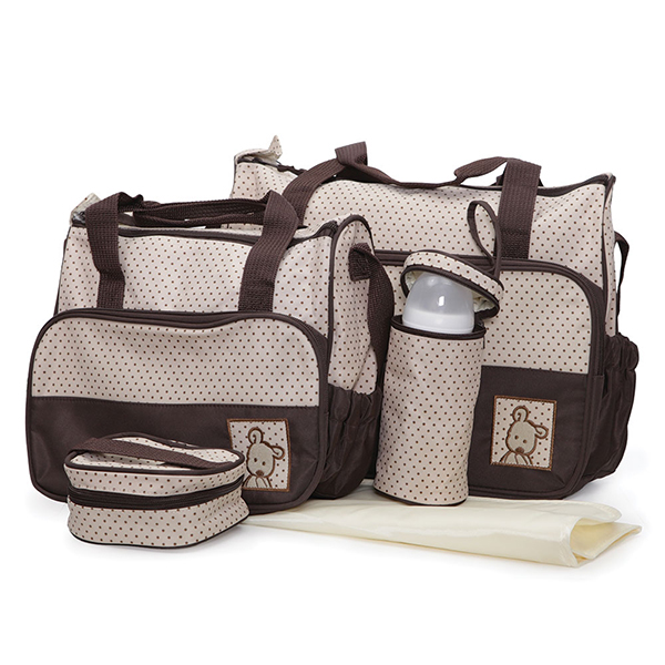 Set torbi za mame Cangaroo Stella Brown CAN0224BR