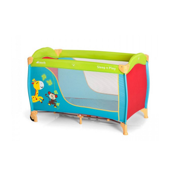 Prenosivi krevetac HAUCK  Sleep n Play Jungle fun 5170178