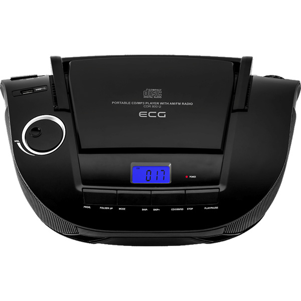 CD radio ECG CDR 800 U black