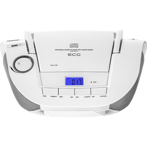 CD radio ECG CDR 800 U white