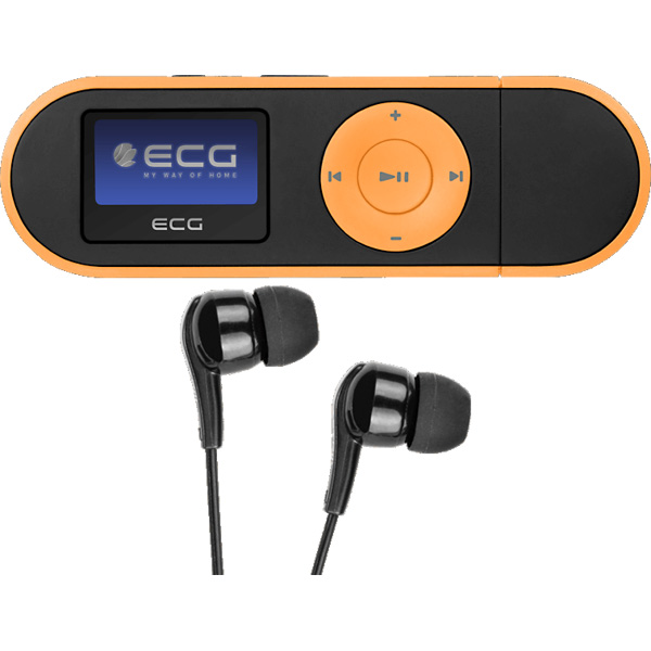 MP4 player ECG PMP 20 4GB Black/Orange