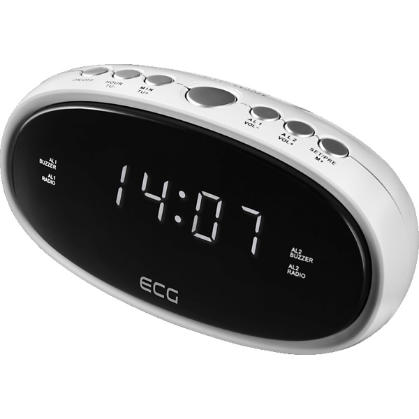 Radio alarm ECG RB 010 White