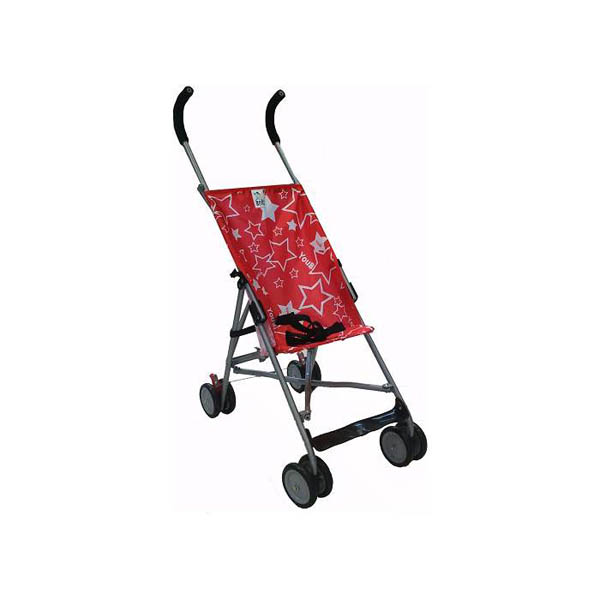 Kolica Little Stars Red Baby Boss H208RED