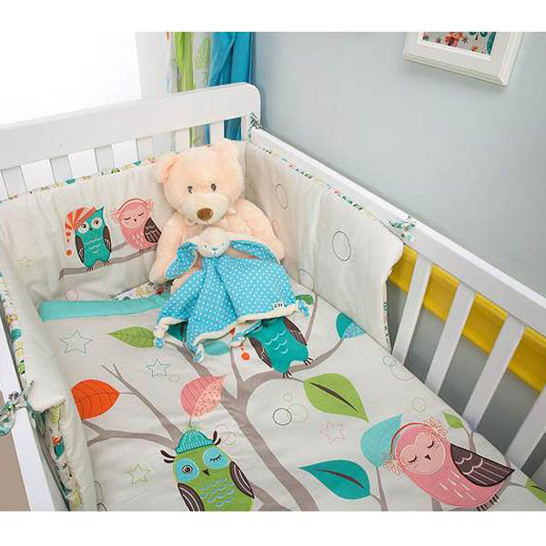 Posteljina za bebe Set Joy Owl 3/1 Smart Trike 24010400