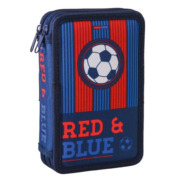 Pernica Double Decker red&blue football Puna 100470