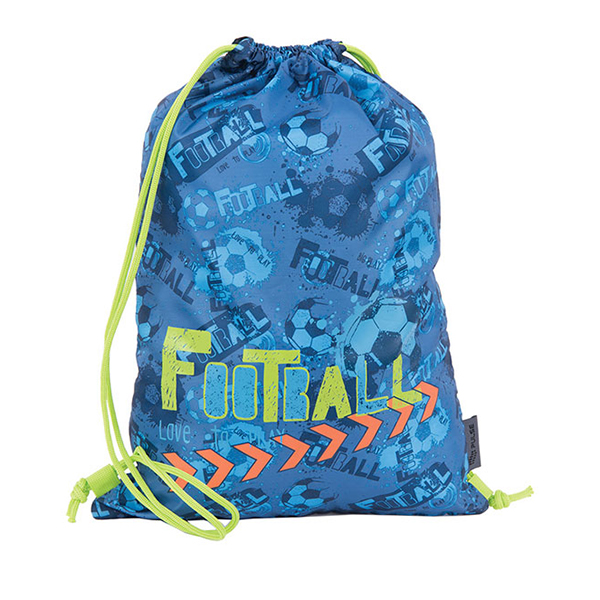 Torba za fizičko Blue Football 121297
