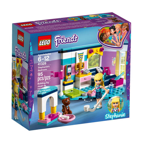 Lego friends Stephanies bedroom  LE41328