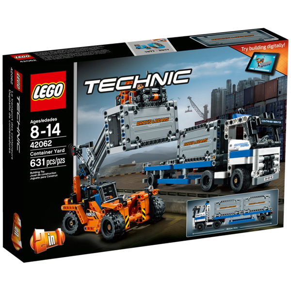 Lego Tehnic Container Yard  LE42062