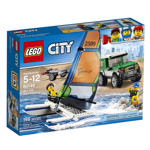 Lego City 4x4 with Catamaran LE60149