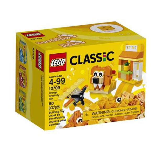 Lego Classic Orange Creativity Box  LE10709