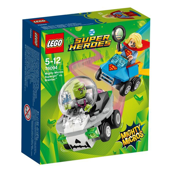 Lego Super Heroes Mighty Micros Supergirl vs Brainiac  LE76094
