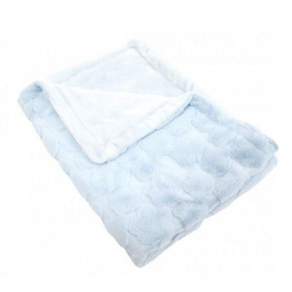 Ćebence za bebe Luxury Blue Clouds Kikka Boo 31103020047