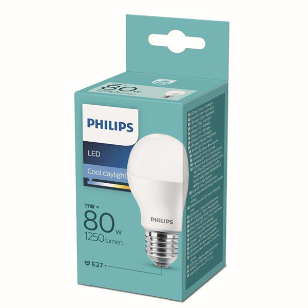 LED sijalica Classic E27 80W 11W 6500K Philips PS679