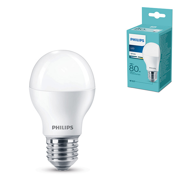 LED sijalica 11W E27 A55 WH 3000K 1150lm Philips PS678
