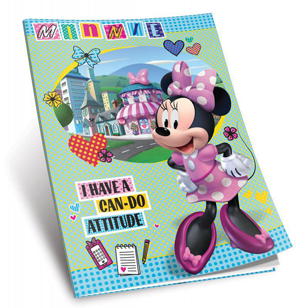 Sveska Disney I have can-do attitude A5 format Meki povez UNI Line