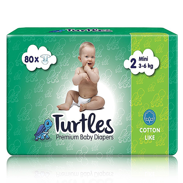 Pelene za bebe Turtles Baby MINI 2